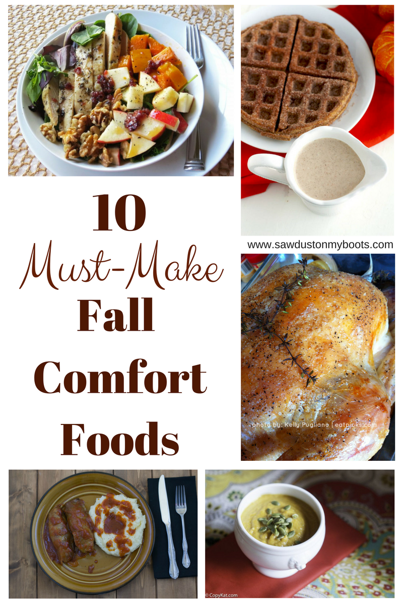 10 Must-Make Fall Comfort Foods