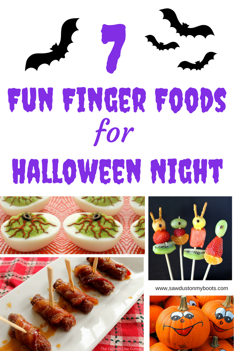 7 Fun Finger Foods for Halloween Night
