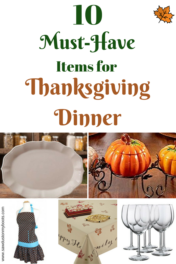 10 Must-Have Thanksgiving Items from Amazon