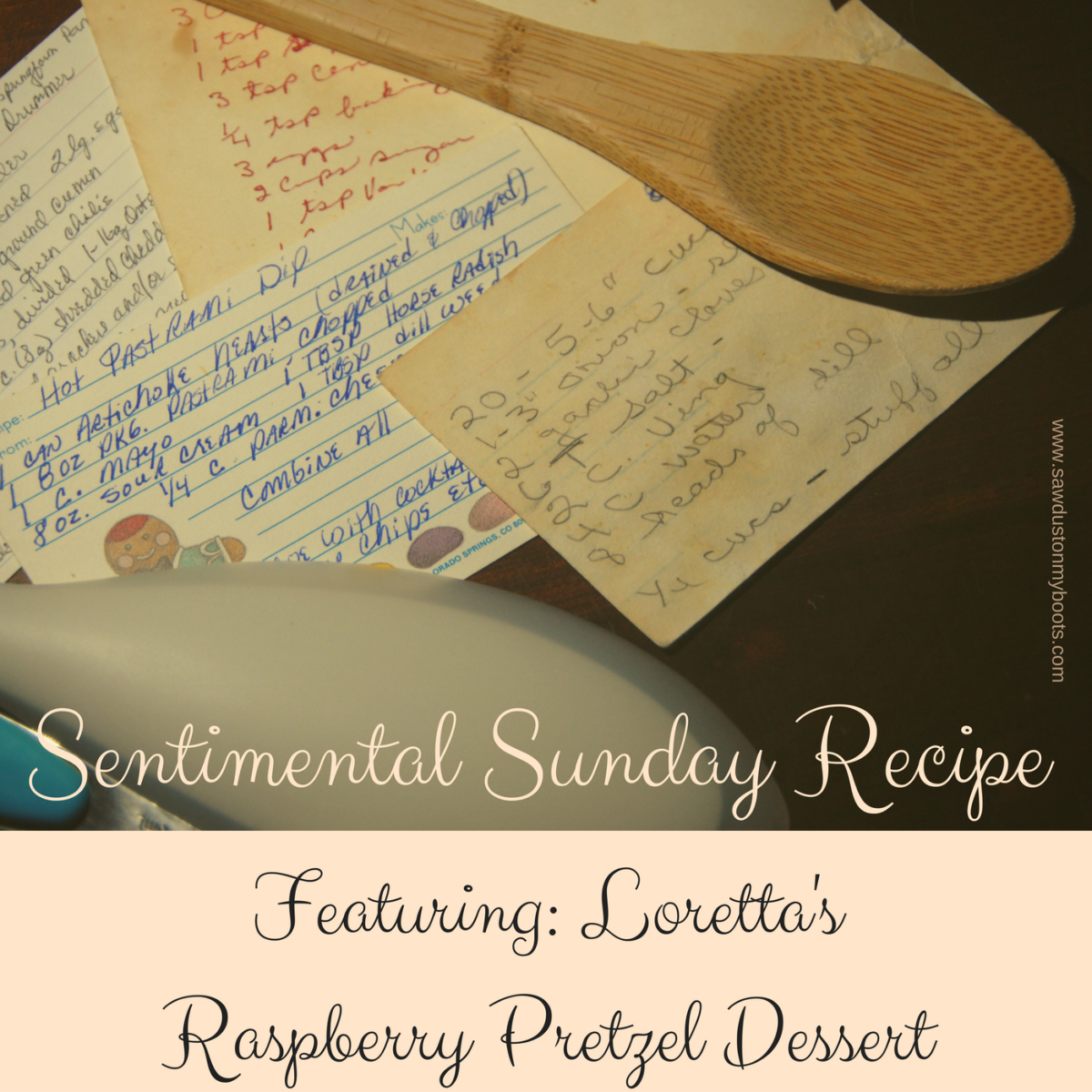 Sentimental Sunday Recipe: Loretta's Raspberry Pretzel Dessert