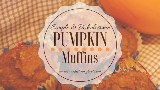 Simple and Wholesome Pumpkin Muffins