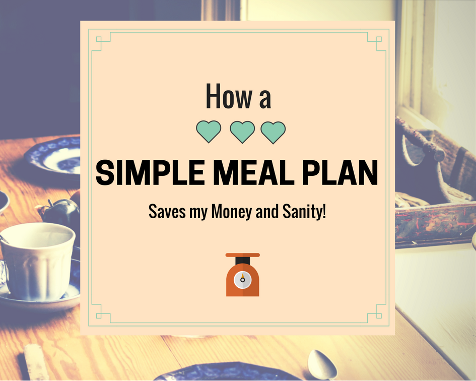How a Simple Meal Plan Saves My Money and Sanity (FREE Printable)