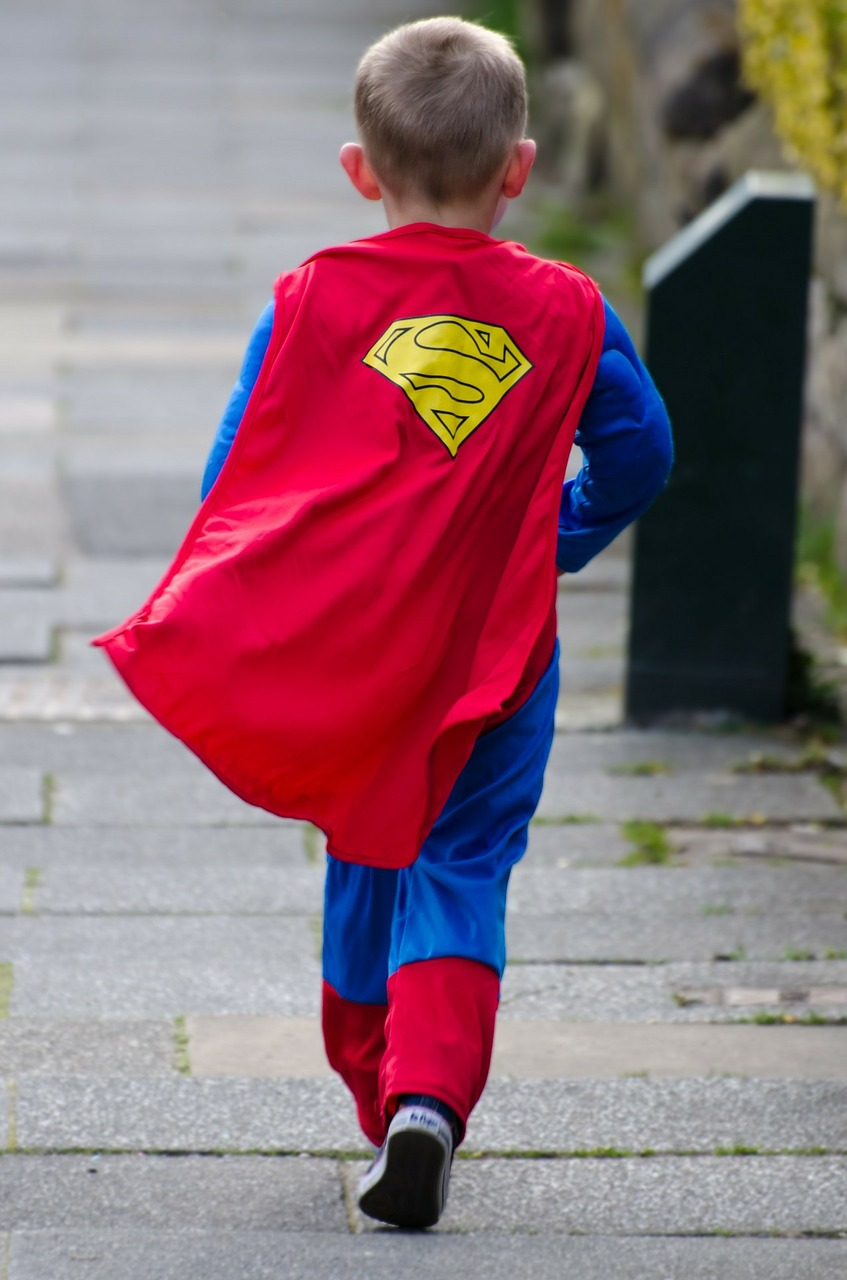 Helping Your Kid Find their Inner Superhero