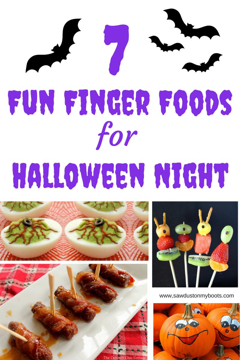 7 Fun Finger Foods for Halloween Night