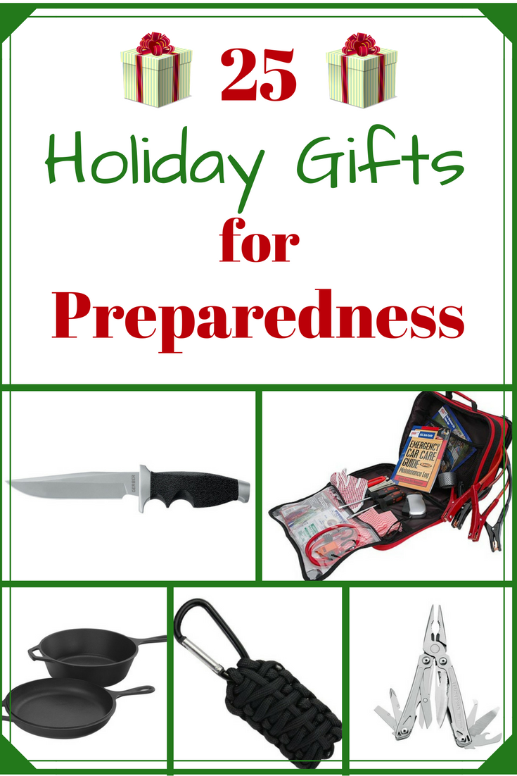 25  Great Holiday Gifts for Preparedness